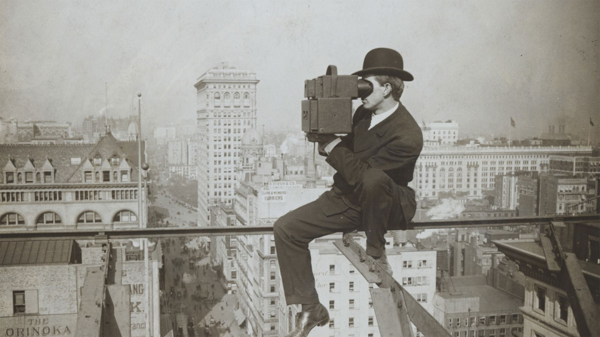 Underwood & Underwood: New York, Looking North up Fifth Ave., Stereofotografie, 1905