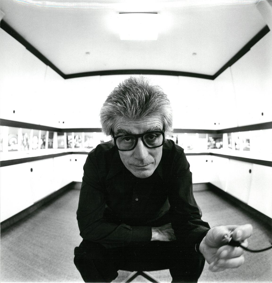 Ludwig Windstosser: Selbstporträt, Abzug von 1978