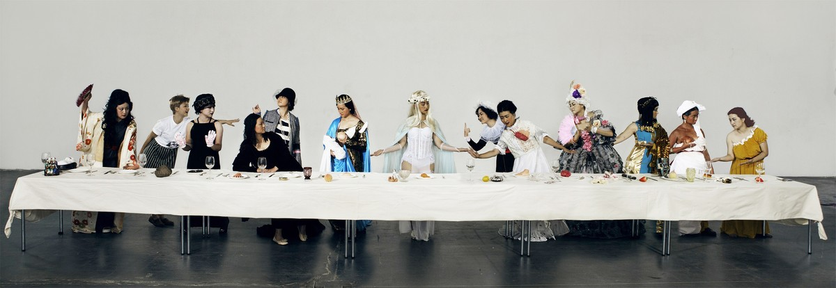 Ye Funa, The Supper of Goddess, 2015, Fotografie, © Ye Funa