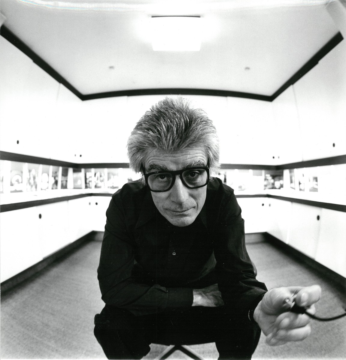 Ludwig Windstosser: Selbstporträt, 1978, Silbergelatinepapier, © Staatliche Museen zu Berlin, Kunstbibliothek / Ludwig Windstosser
