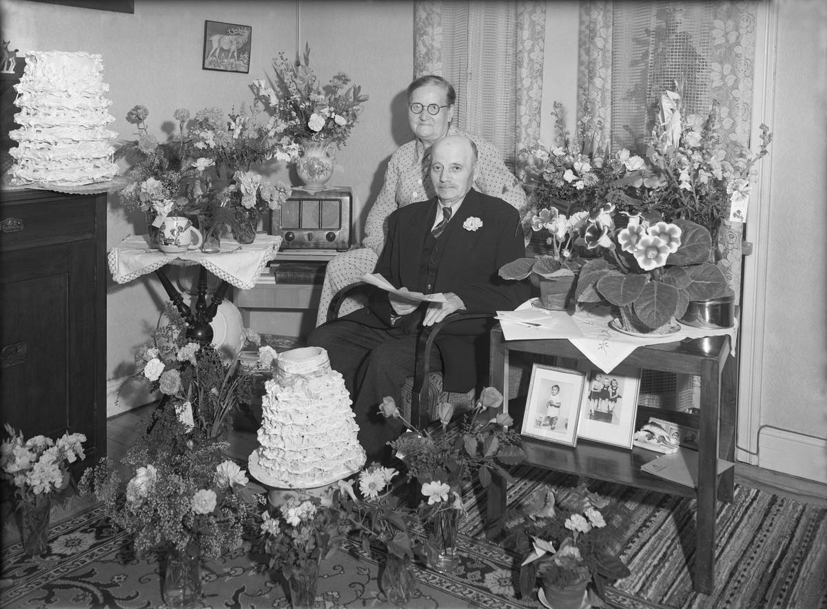 Blumenfest, 1953, © Olof Bellander / Malmö Museer / CC BY