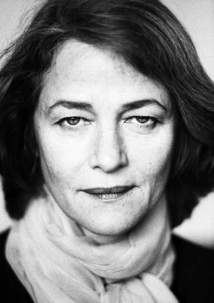 Charlotte Rampling, Berlin 2000, © Birgit Kleber