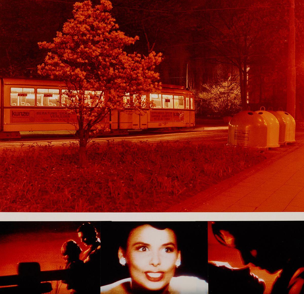 """Andreas Horlitz, aus der Serie """"Essen, Frühling 1981"""", Farbpapier, Museum Folkwang, Essen, © VG Bild-Kunst, Bonn 2020"""