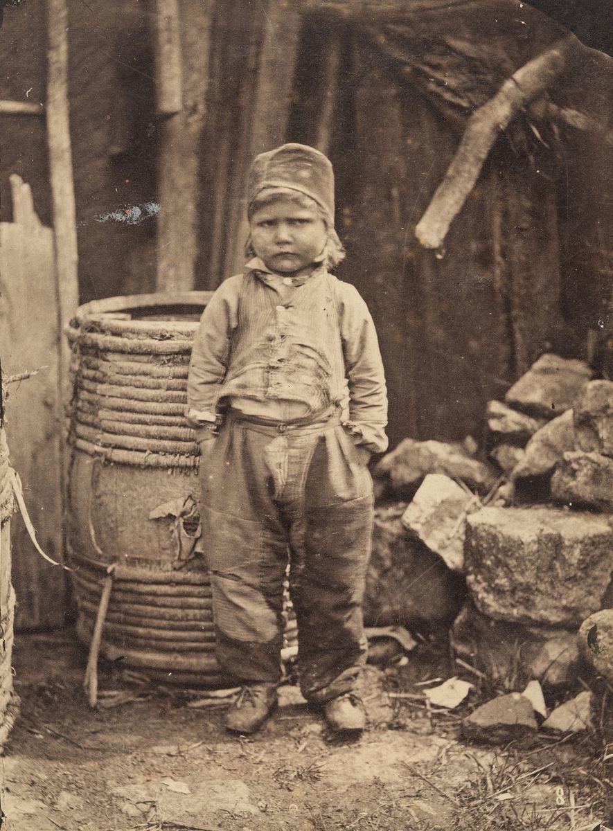 Constant Alexandre Famin (1827-1888), Porträt eines Bauernjungen, 1859, Salzpapier, © Archiv der Universität der Künste, Berlin