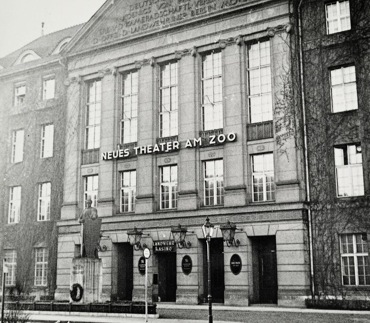 Neues Theater am Zoo, 1932, Postkarte, Museum Charlottenburg-Wilmersdorf in der Villa Oppenheim, © Museum Charlottenburg-Wilmersdorf